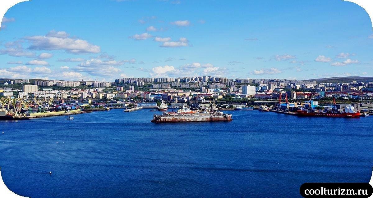 Абрам-мыс Мурманск фото города
