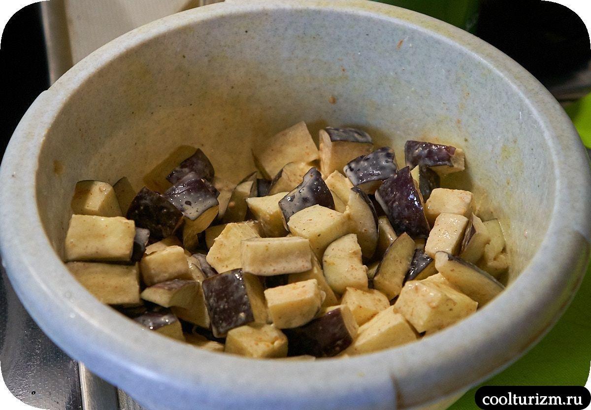 Хрустящие баклажаны с мясом как готовить