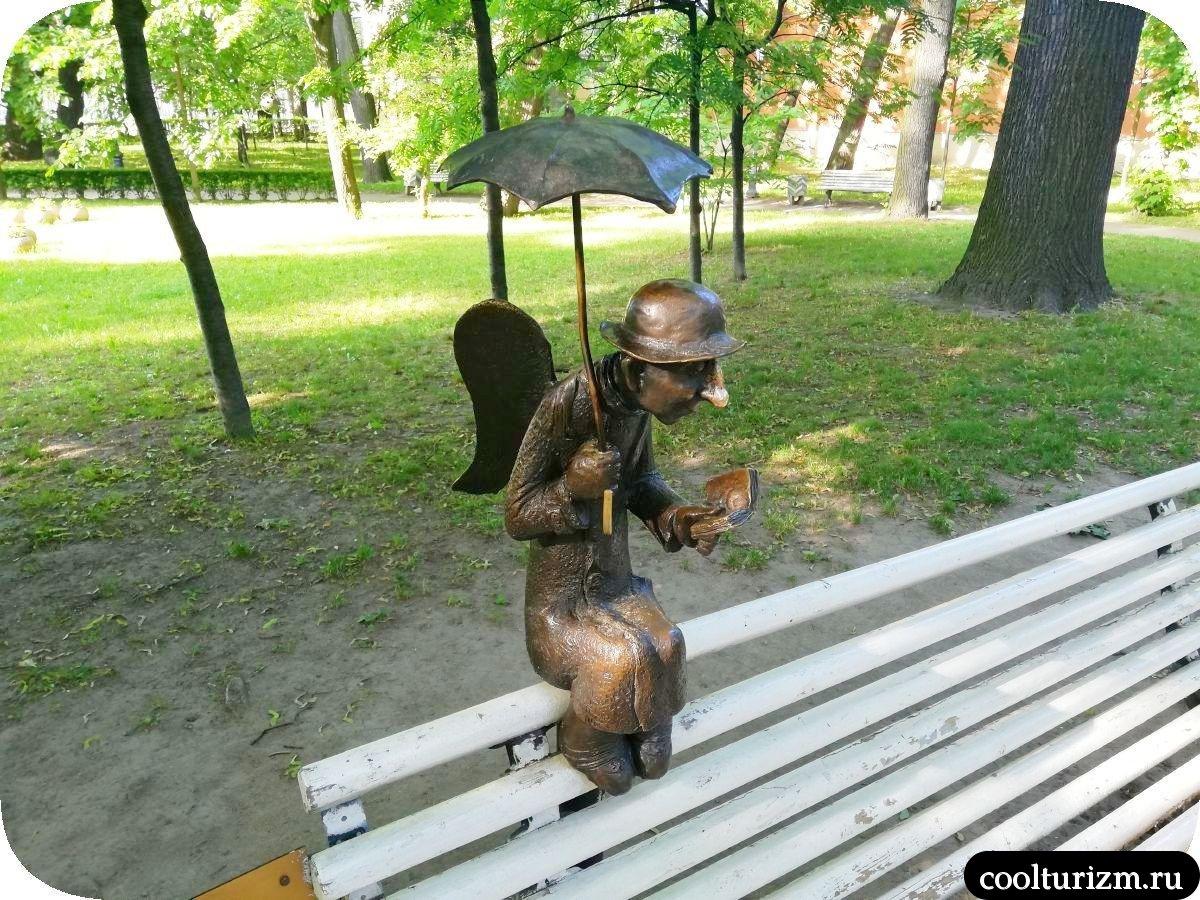 Петербургский ангел где находится