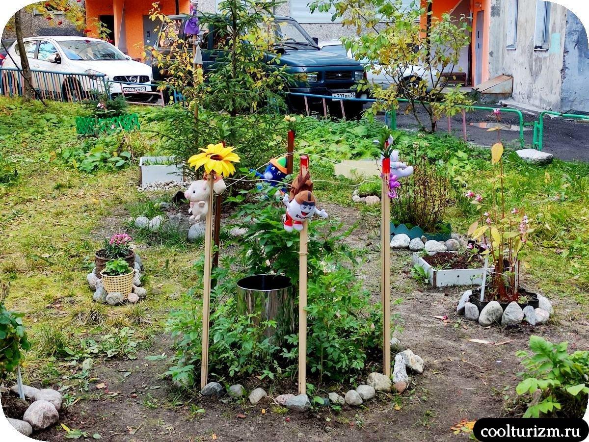 Плюшевый ад мурманских дворов летом
