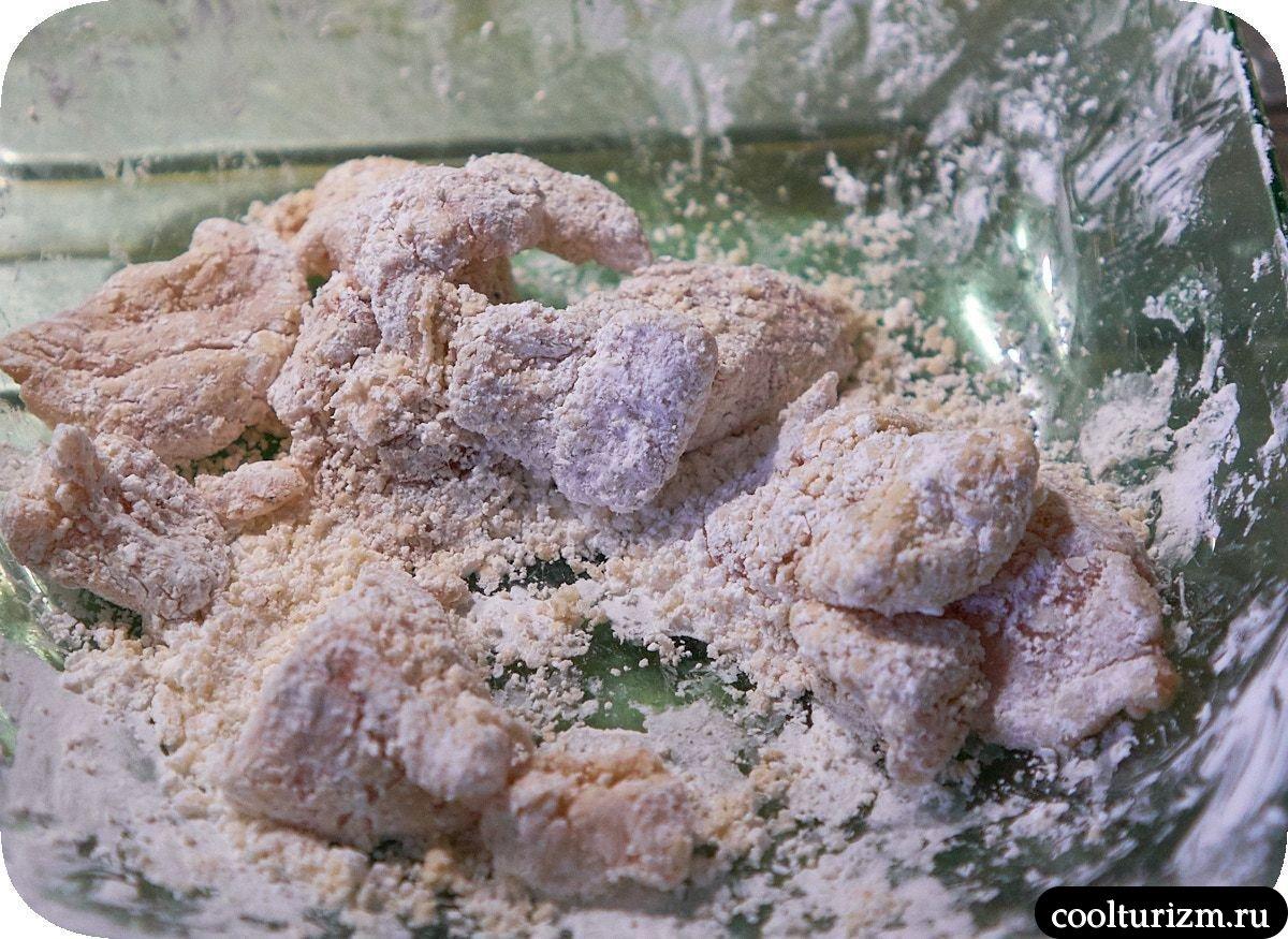 Жареные баклажаны с курицей по-японски рецепт