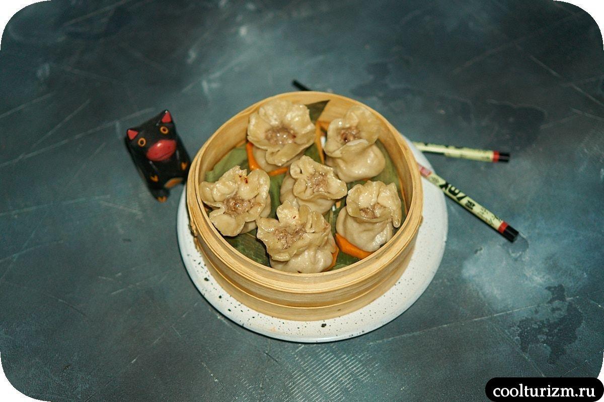 Китайские паровые пельмени