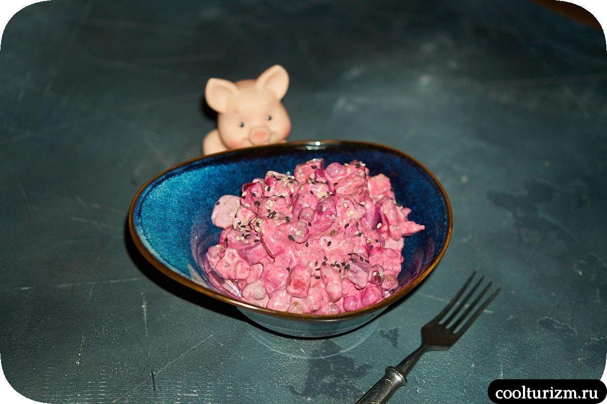 Салат из солёной селёдки со свеклой рецепты