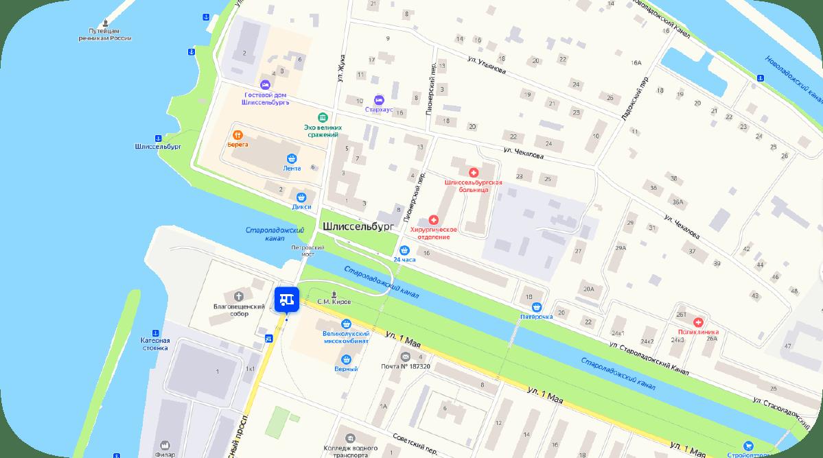 Как доехать до Шлиссельбурга Красная площадь