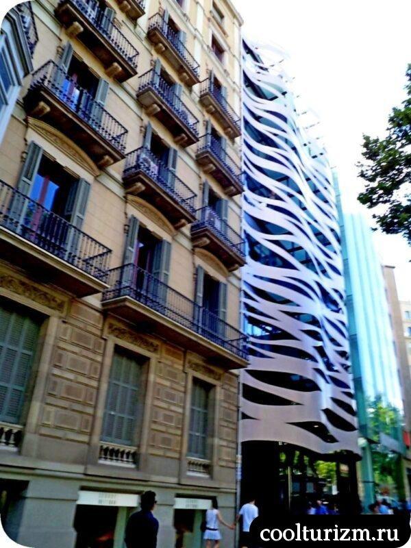 Пасео де Грасия в Барселоне Тойо Ито