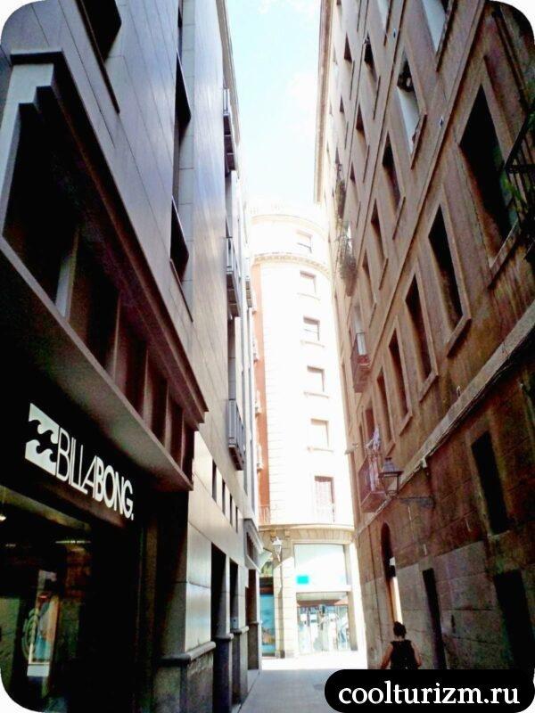 готический квартал и Пасео де Грасия в Барселоне